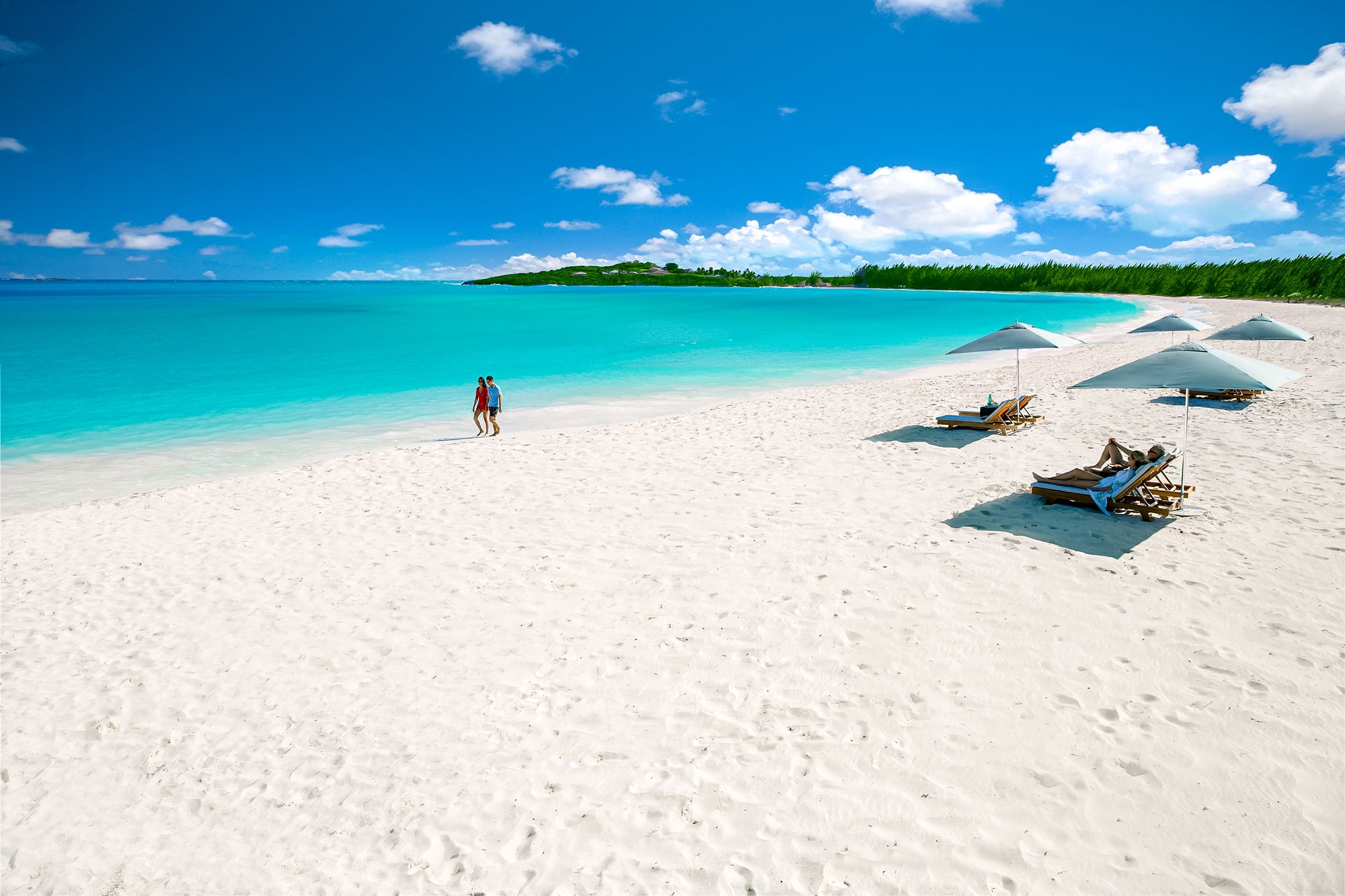 Sandals Emerald Bay White Sand Beach Couple