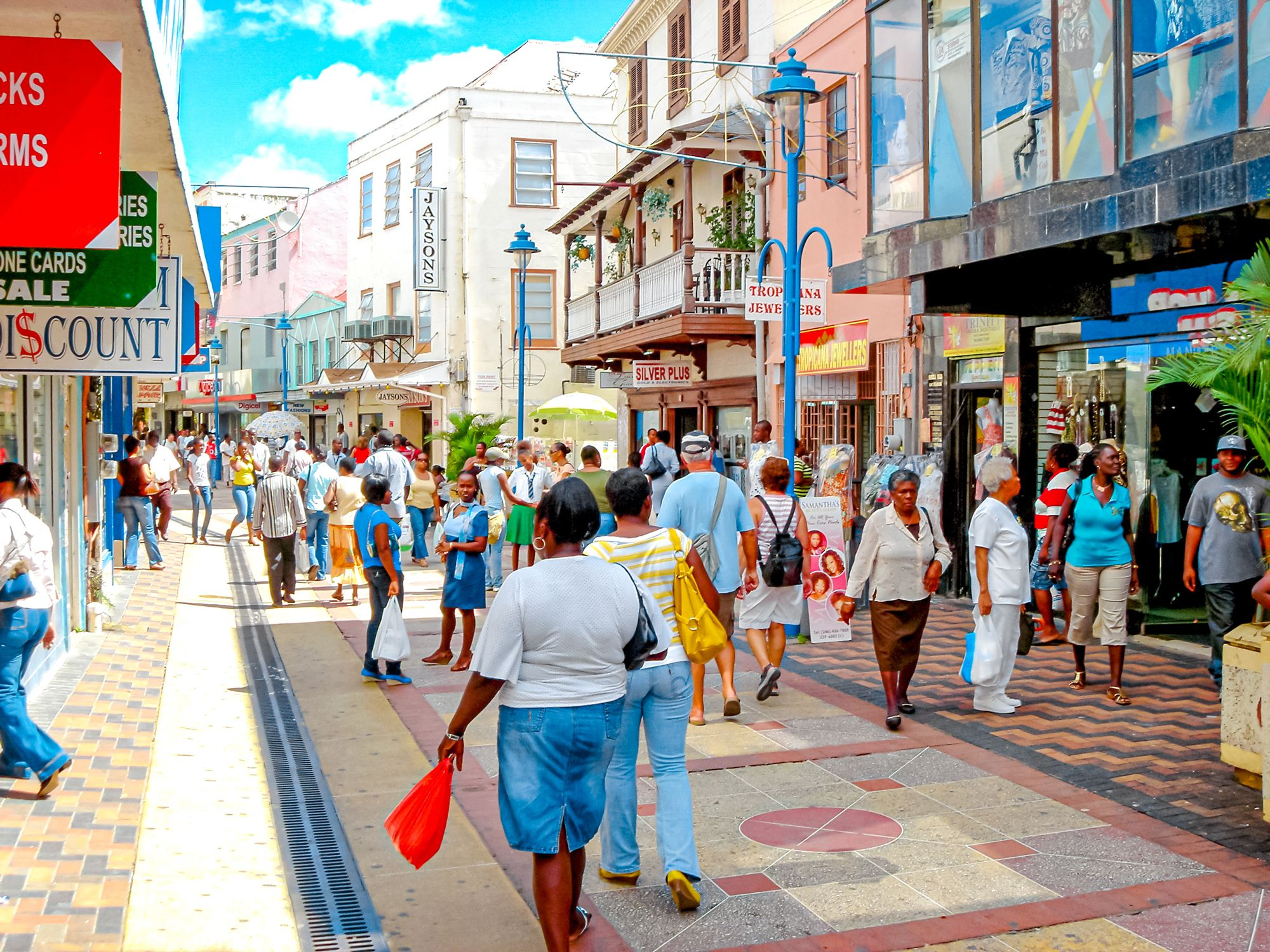 Barbados Downtown People