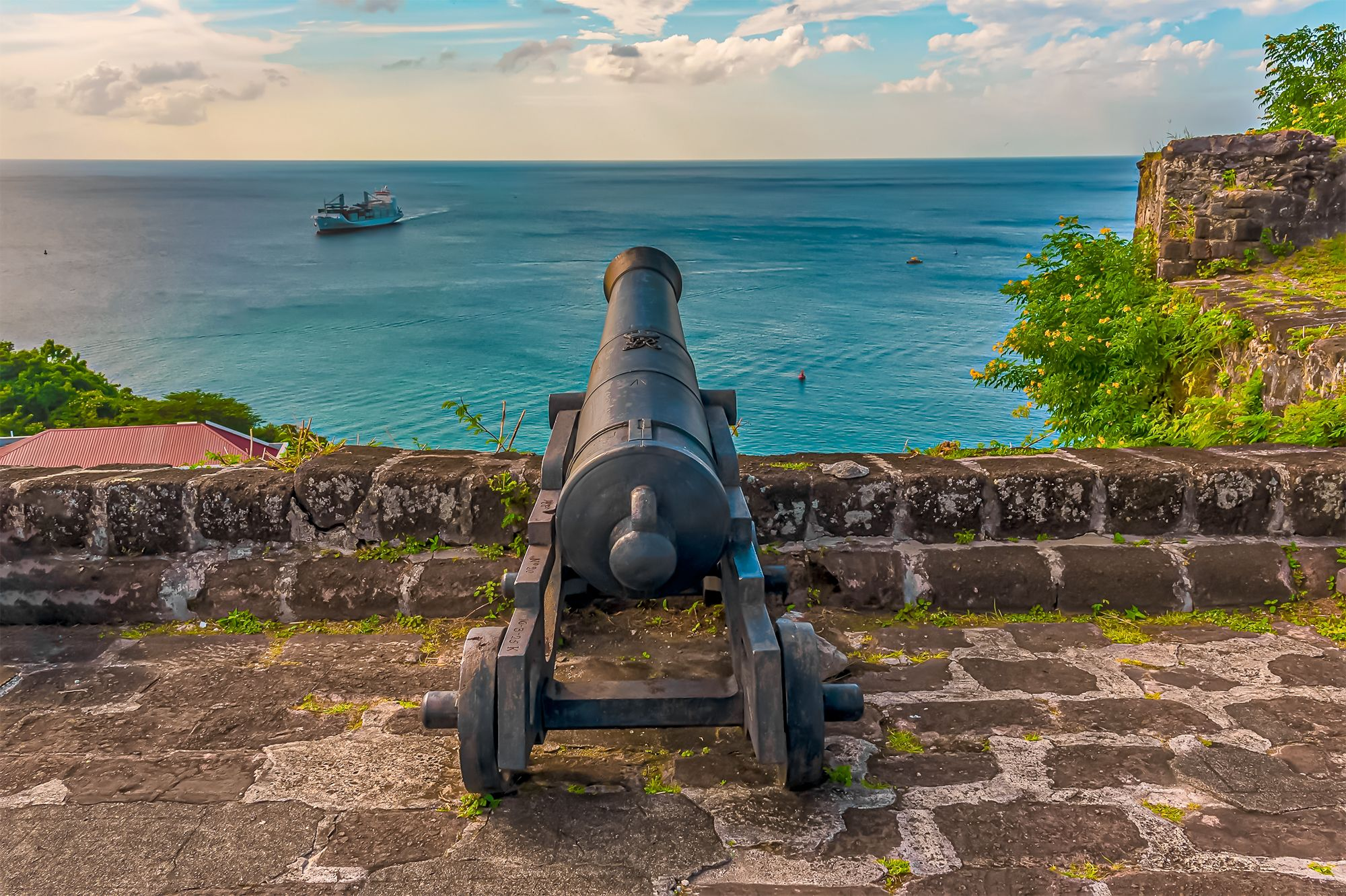Fort St George Grenada Cannon