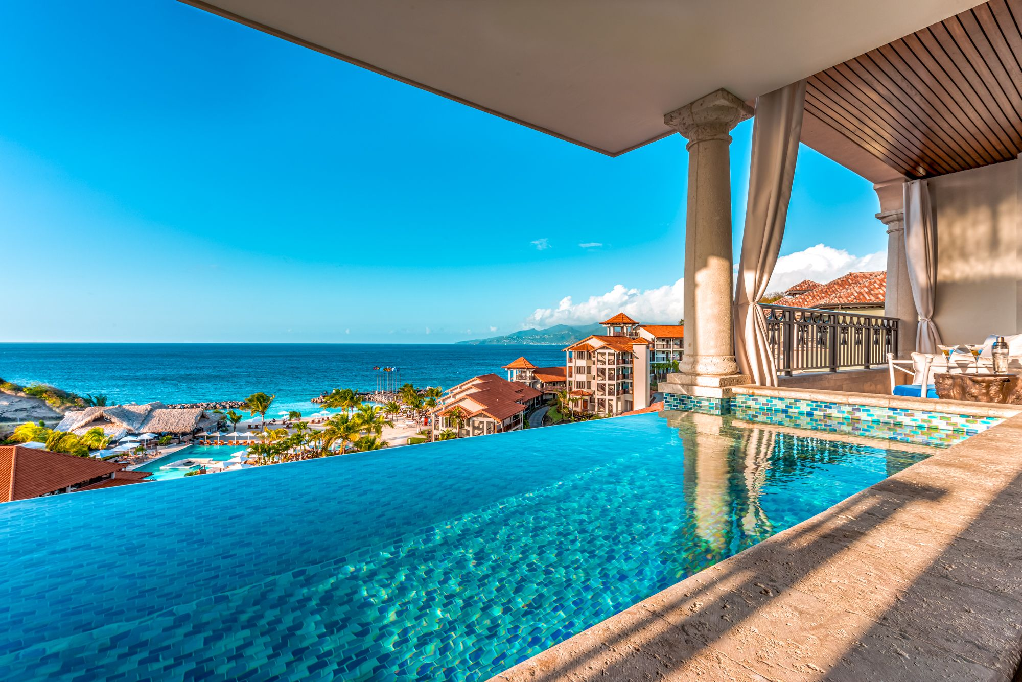 Sandals Grenada Skypool Suites View