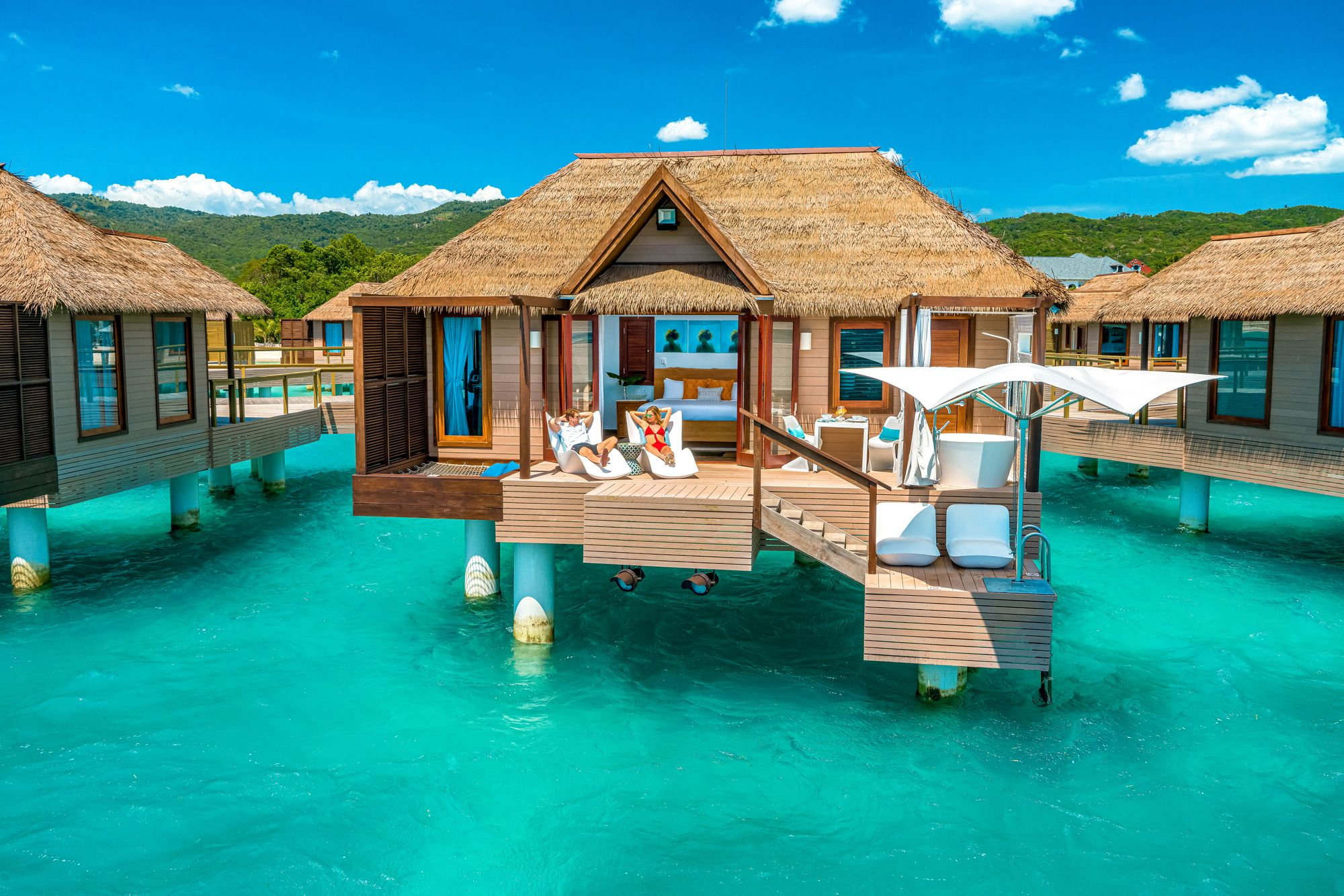 Sandals South Coast Over Water Honeymoon Bungalow Out