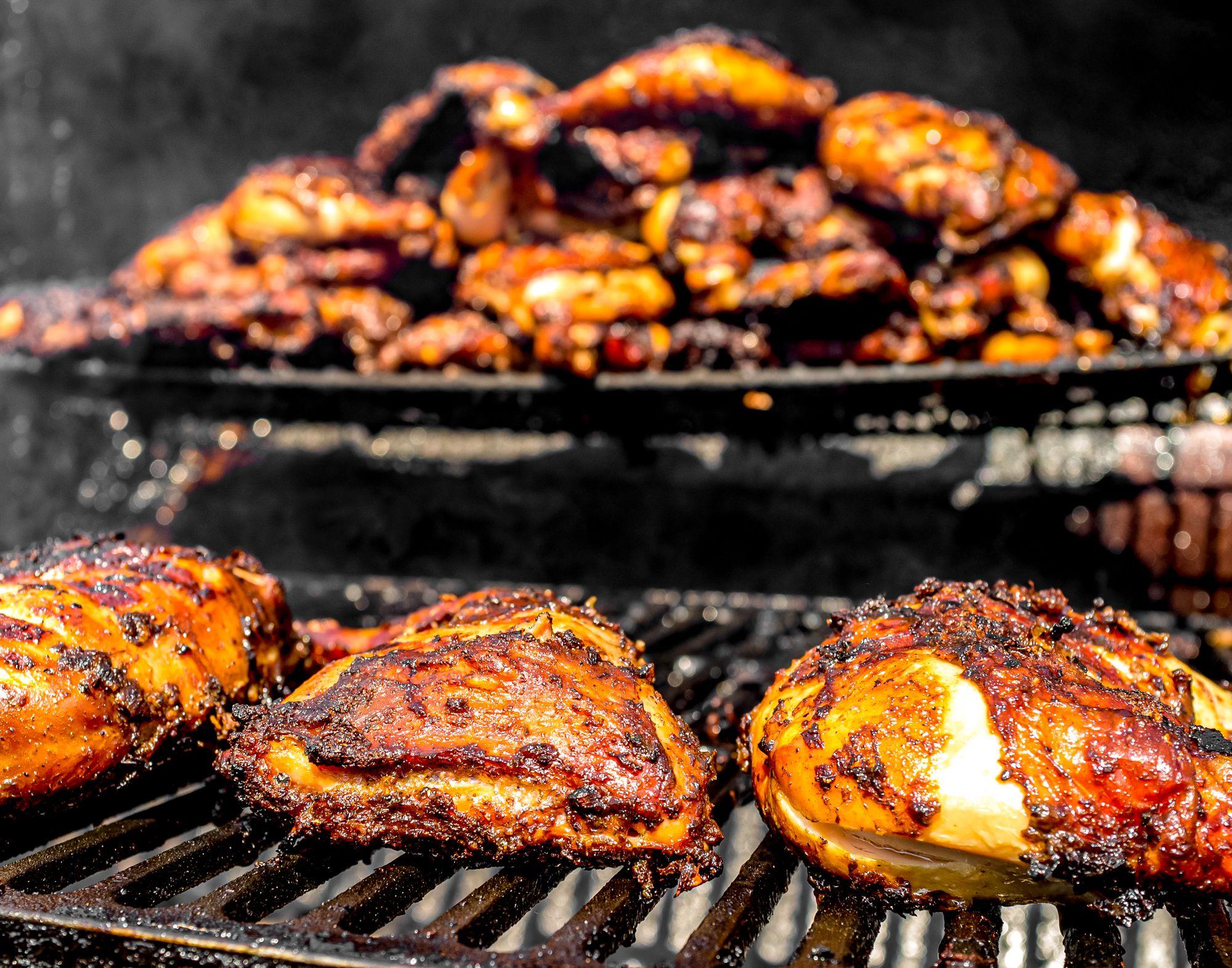 Jamaican Style Jerk Chicken Grill