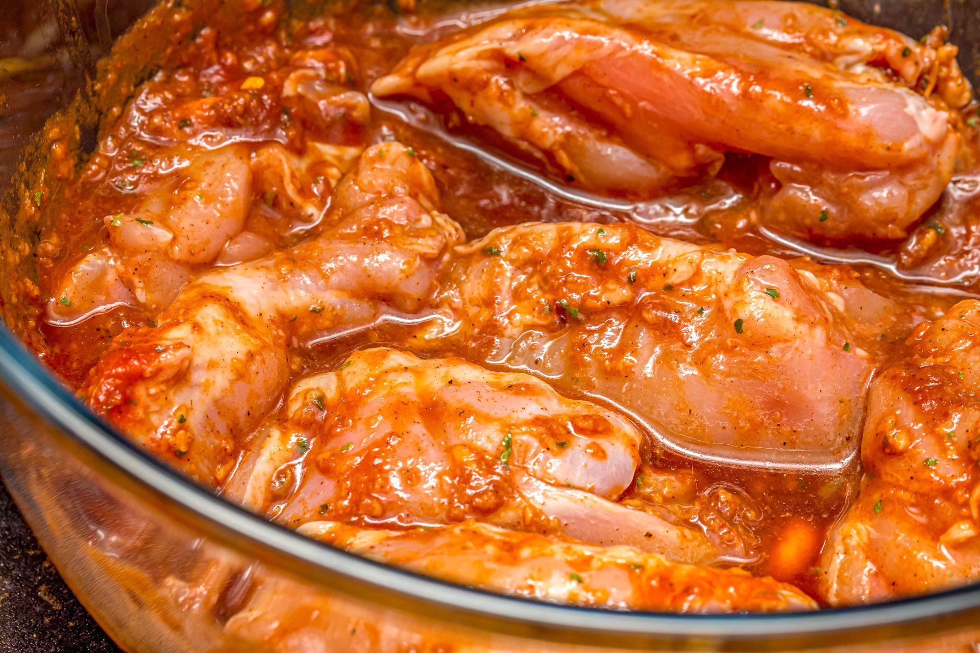 Jamaican Style Jerk Chicken Marinade