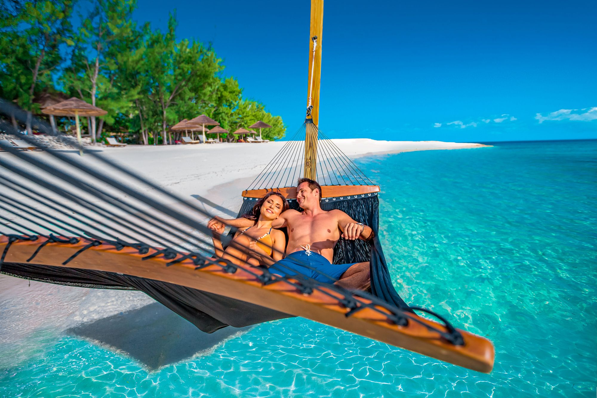 Sandals Royal Bahamian Private Island Couple Hammock