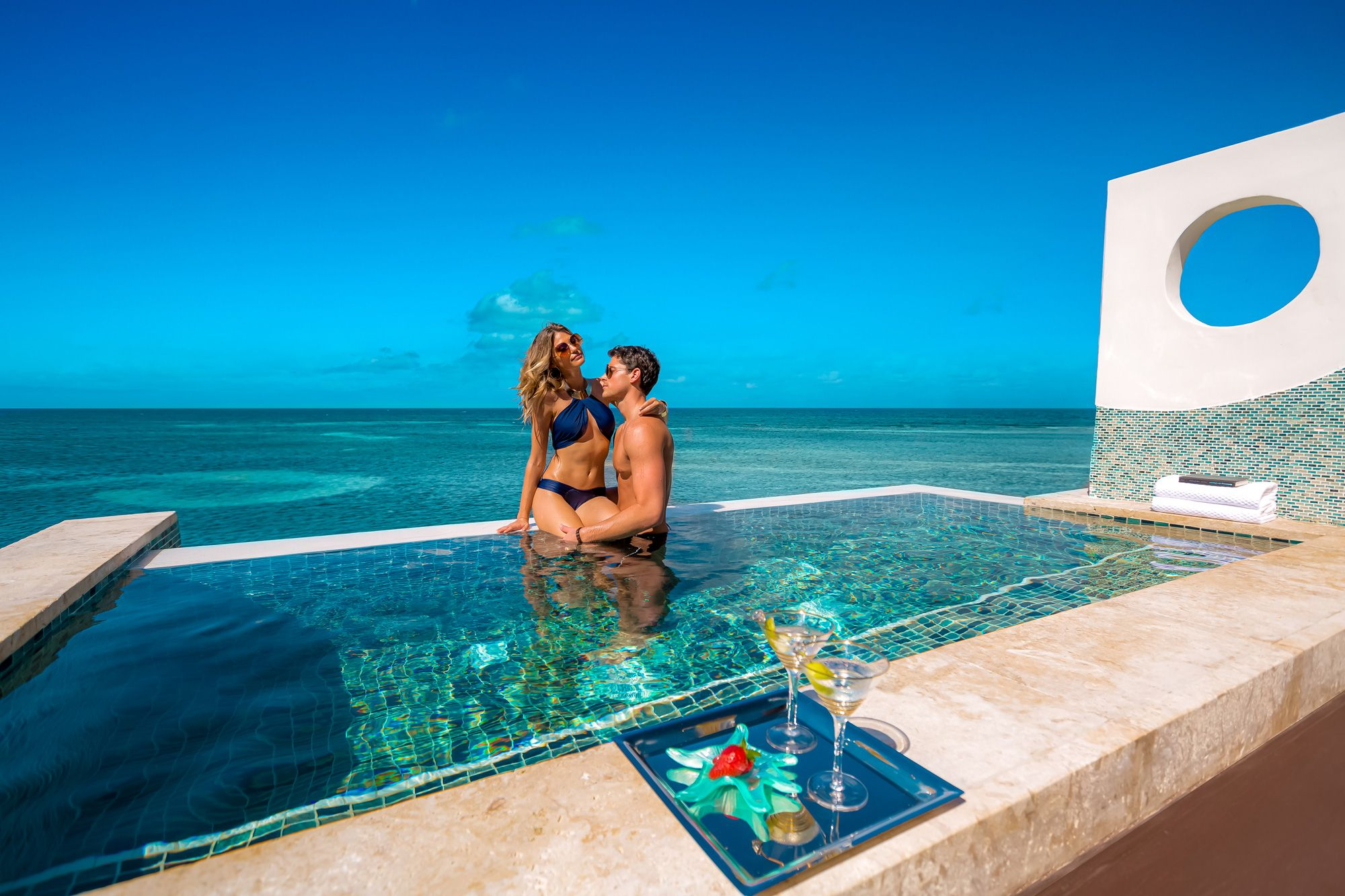 Sandals-Royal-Caribbean-Jamaica-Over-Water-Villa-Pool-Couple