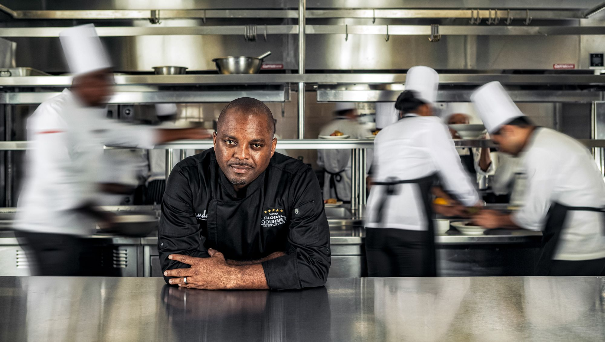 Sandals Senior Executive Chef Glenroy Walker