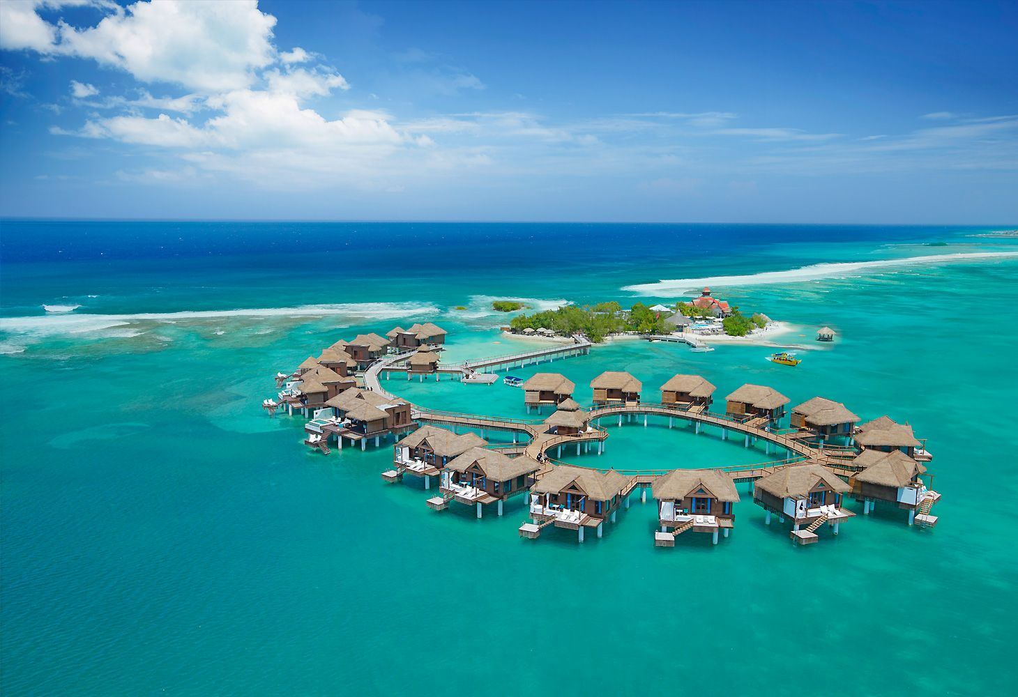 over the water bungalows jamaica