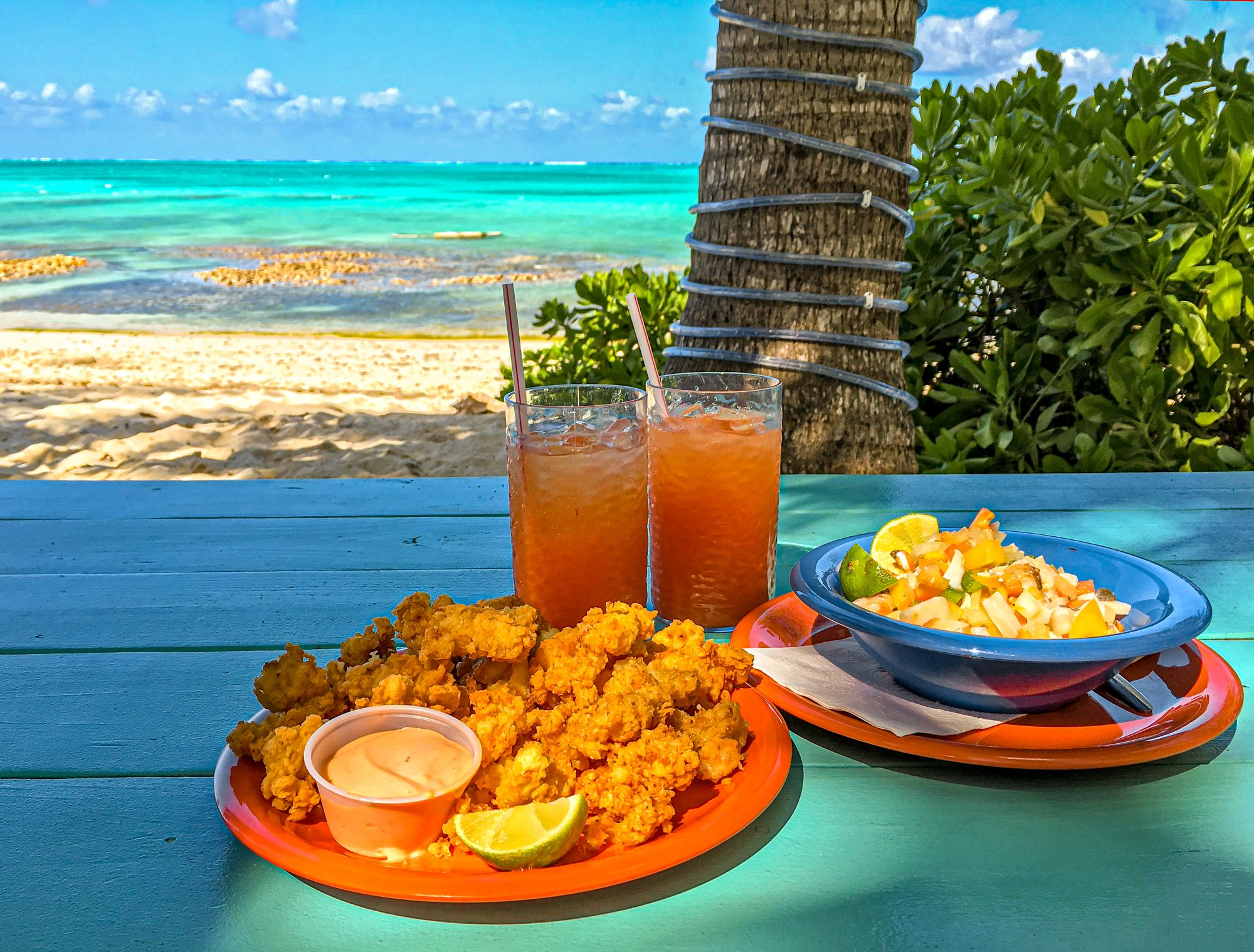 Antigua Conch Fritters Conch Salad