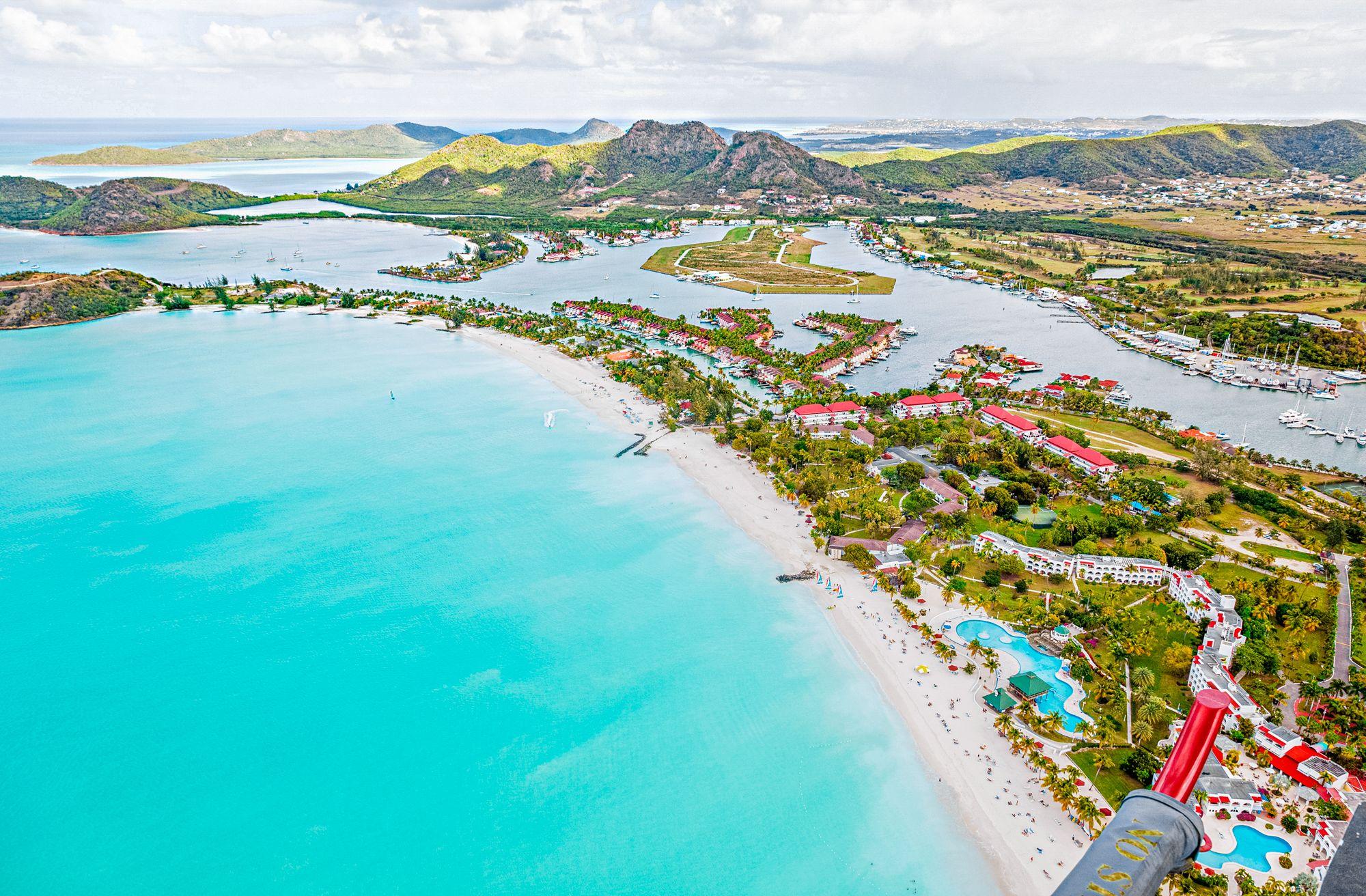Antigua Jolly Beach Jolly Harbor Aerial