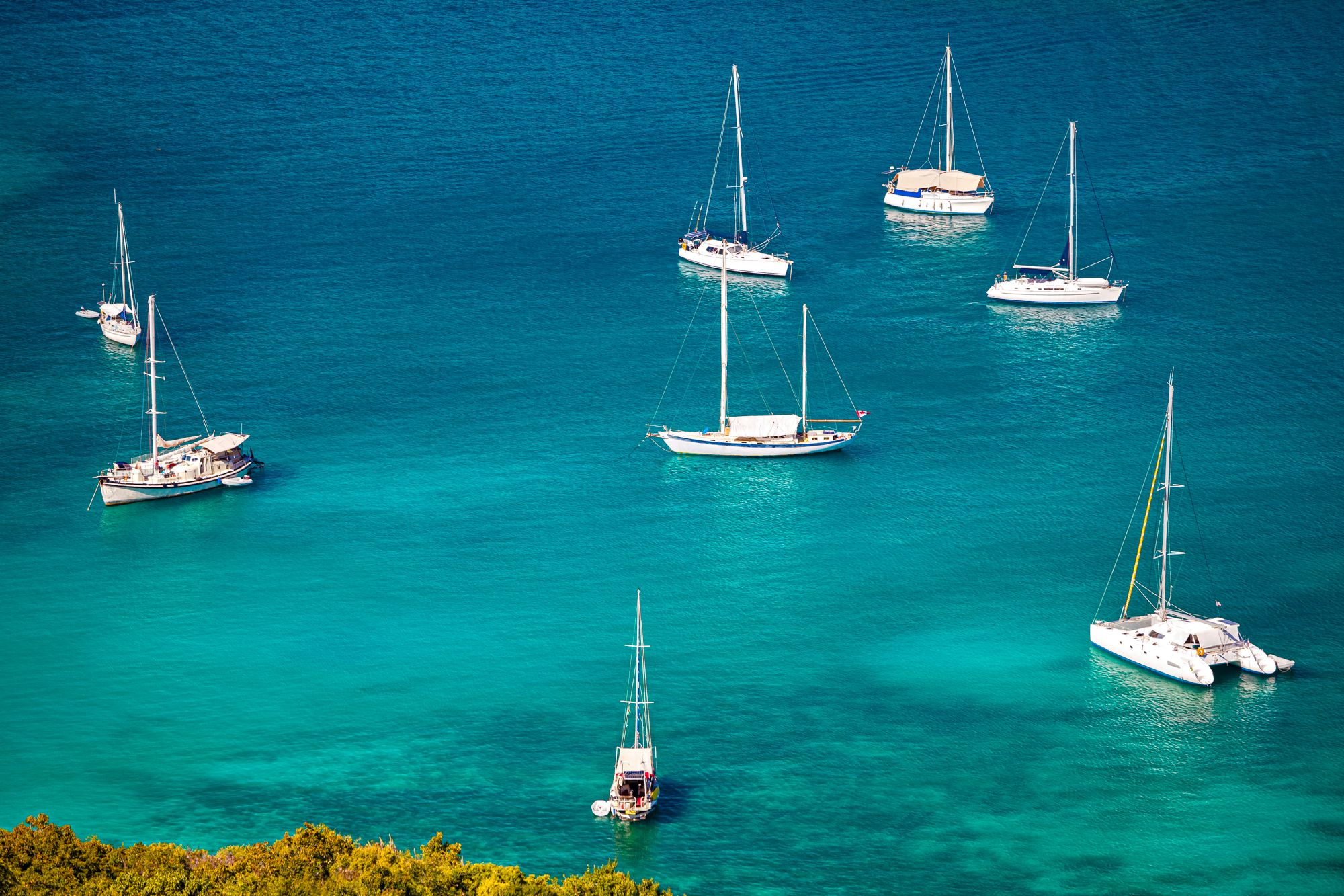 Antigua Sailboats English Harbor