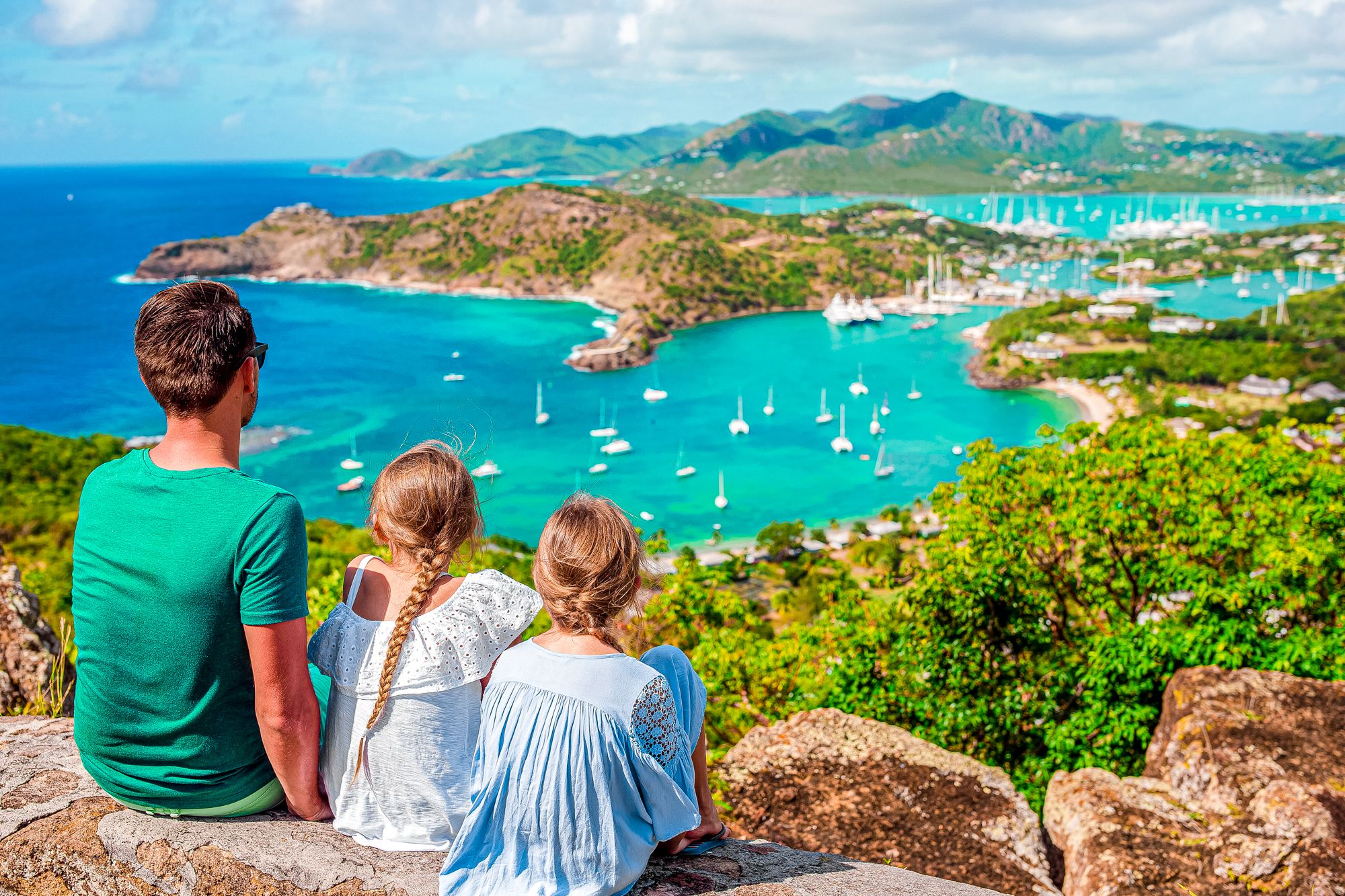 Antigua View From Shirley Heights