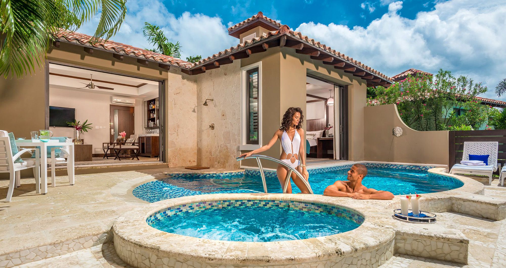 The 9 Best Sandals All-Inclusive Resorts with Spectacular Private Villas & Villa Suites