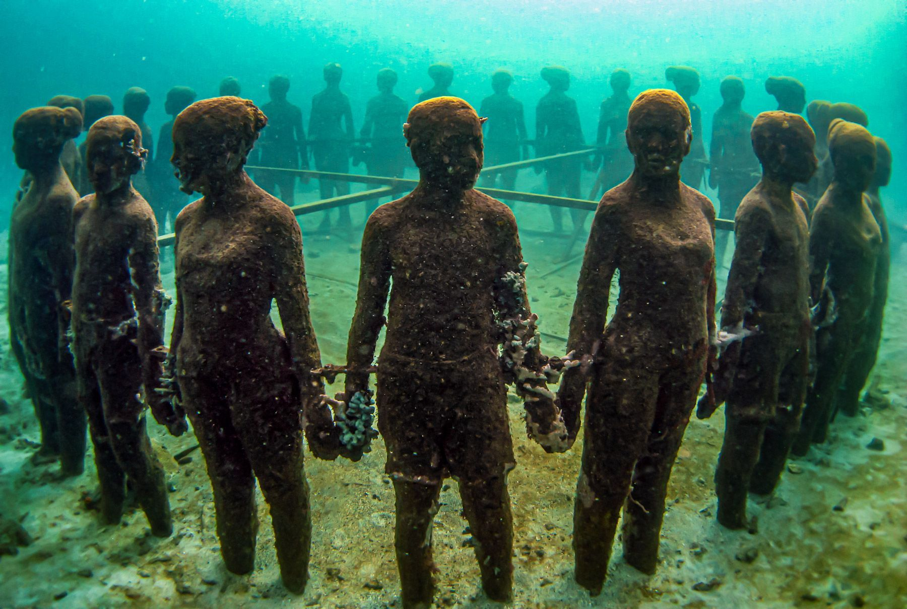 Molinere Underwater Sculpture Park Grenada