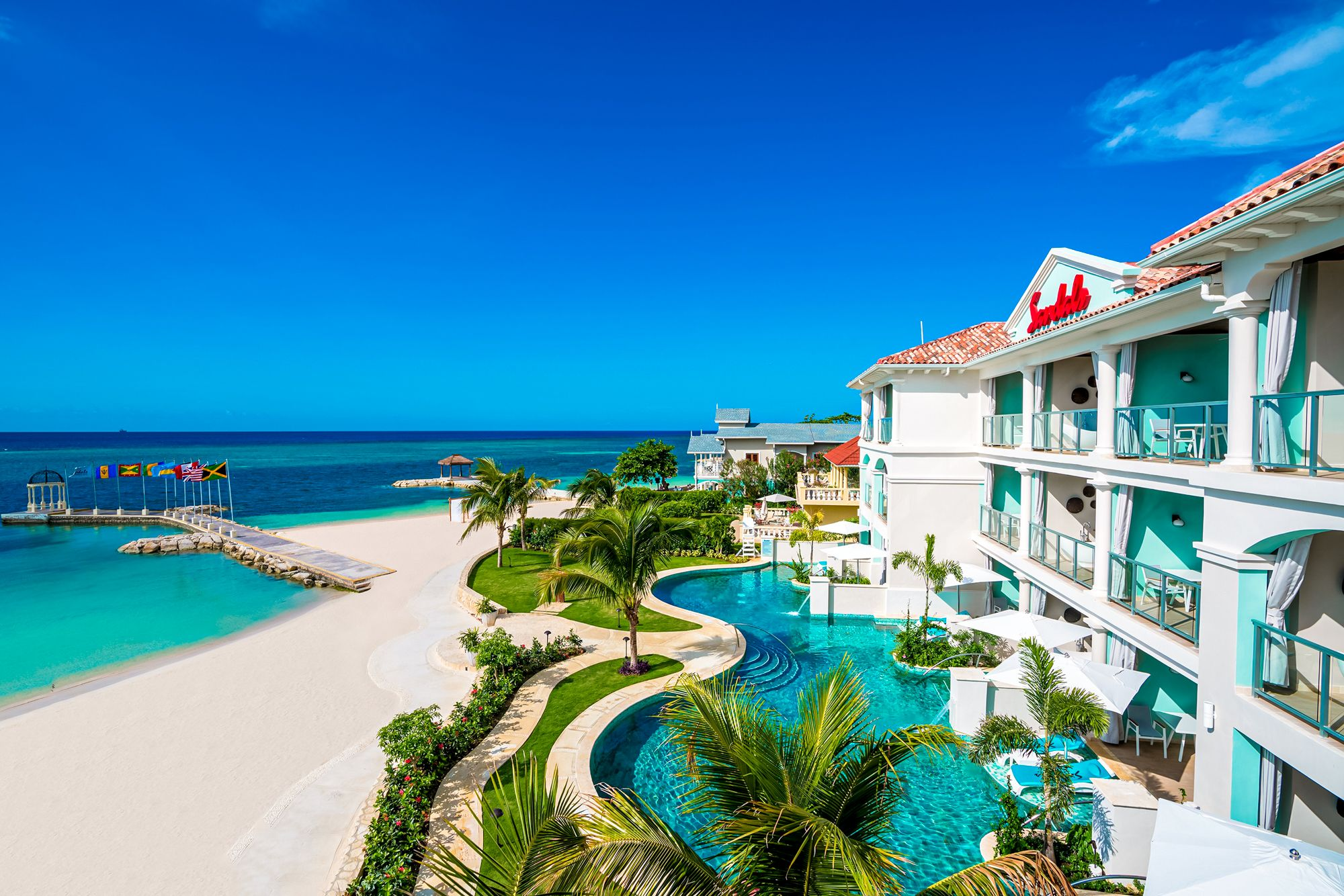 Sandals Montego Bay Frontview