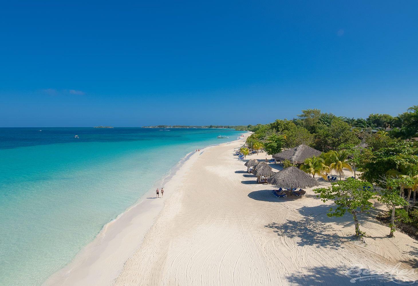 Beaches-Negril-beach-and-cabanas