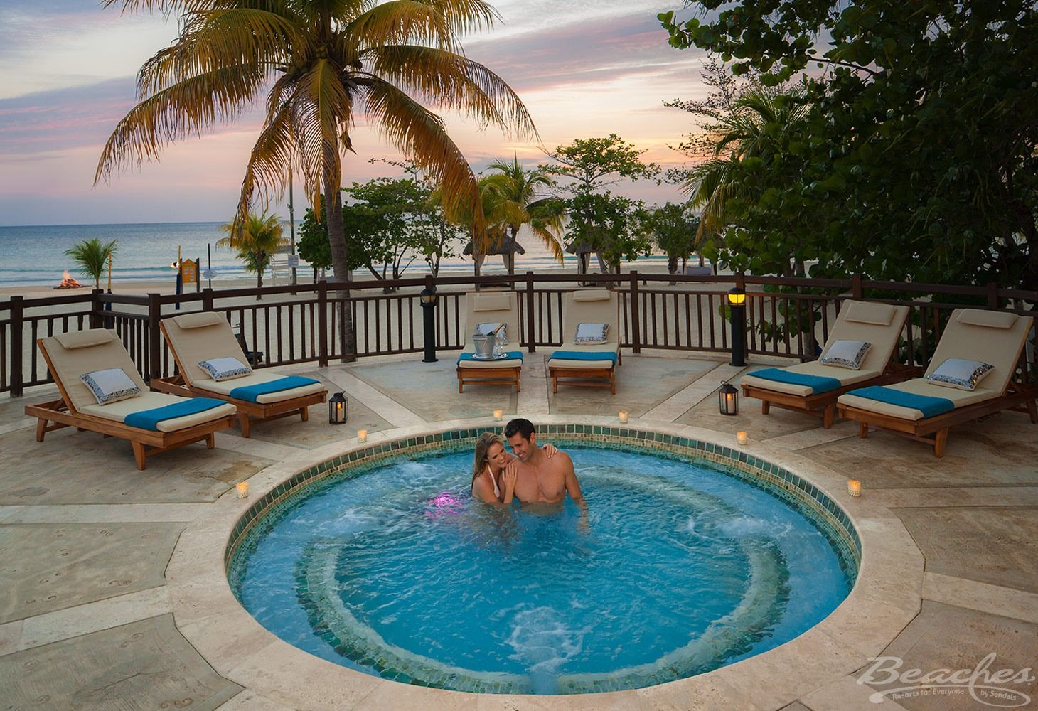Beaches-negril-hot-tub