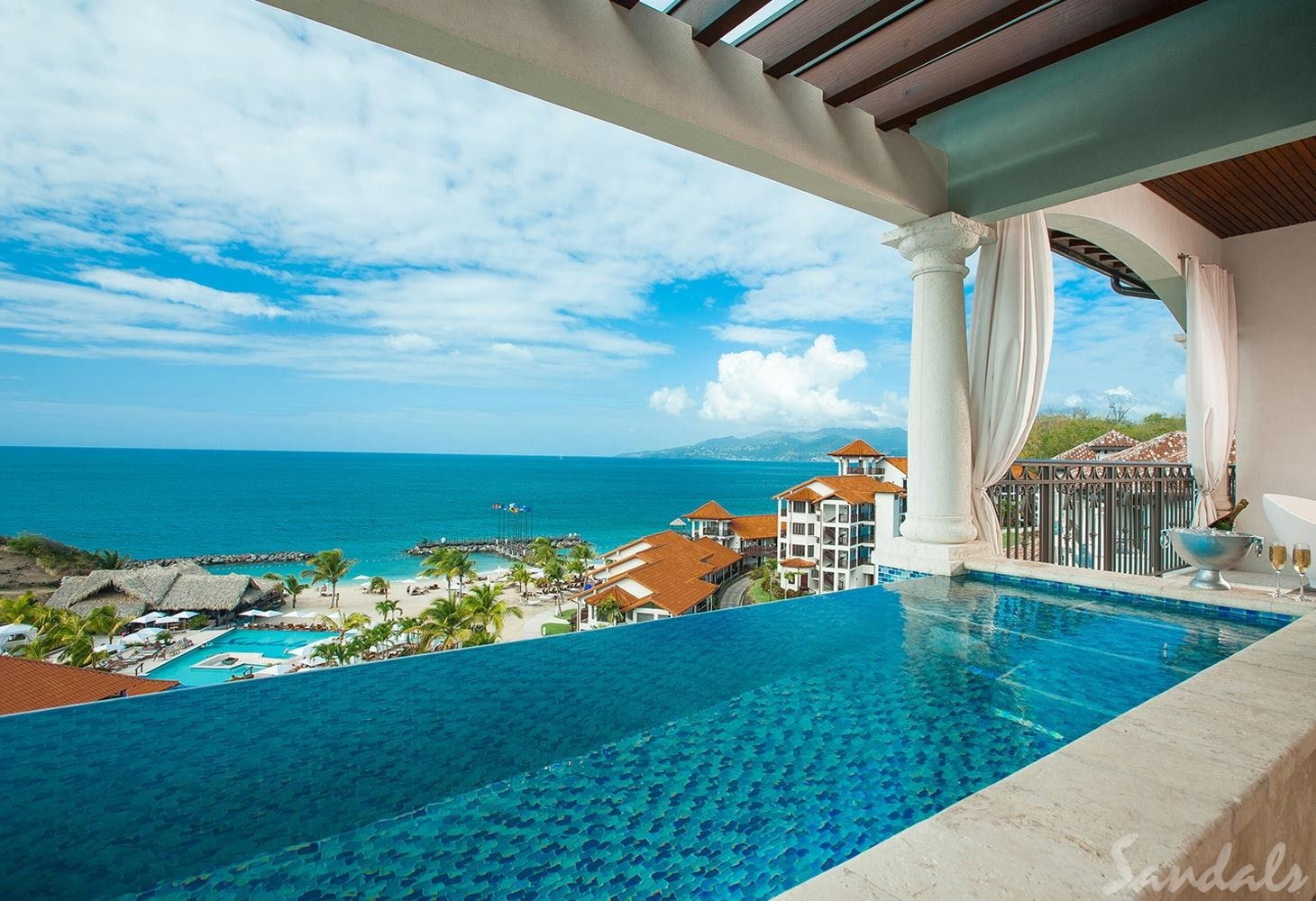 Sandals Grenada Skypool Suite
