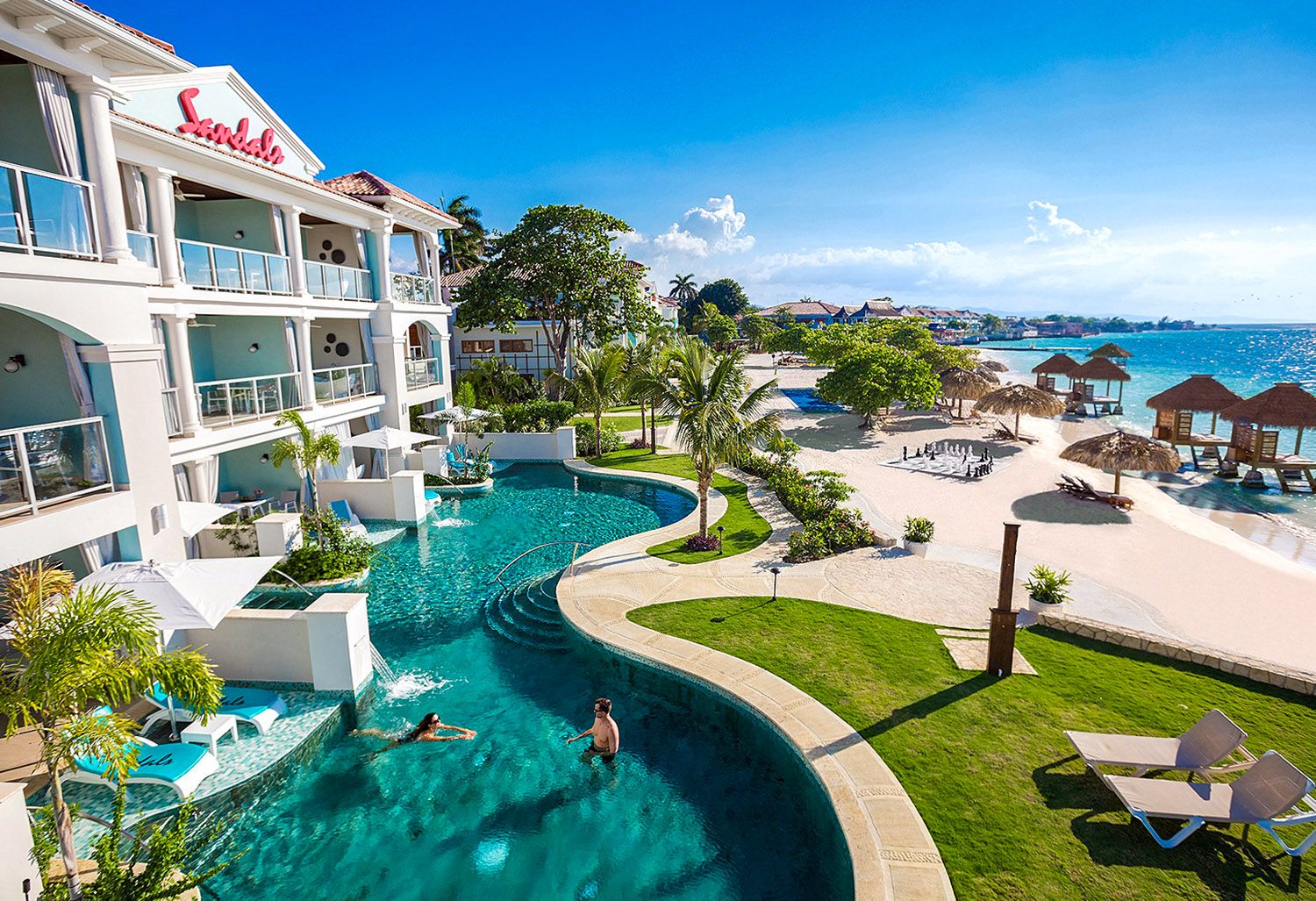 Sandals all-inclusive resort in Montego Bay