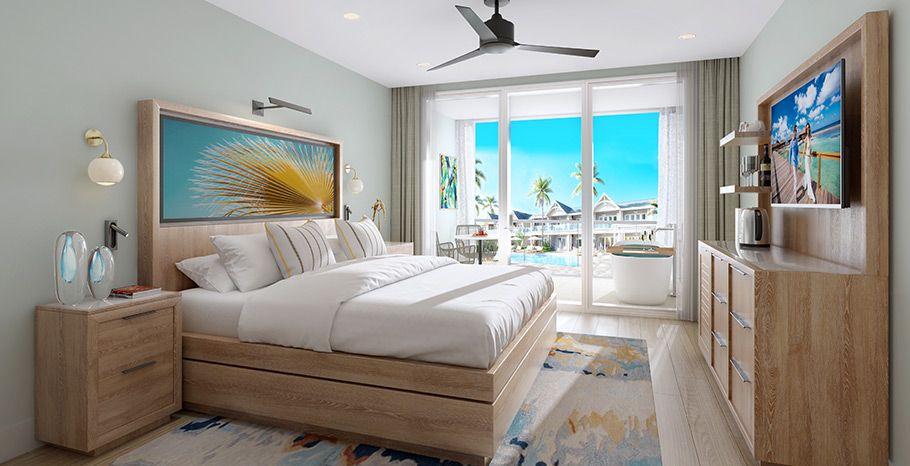 Sandals Royal Caribbean luxury level room