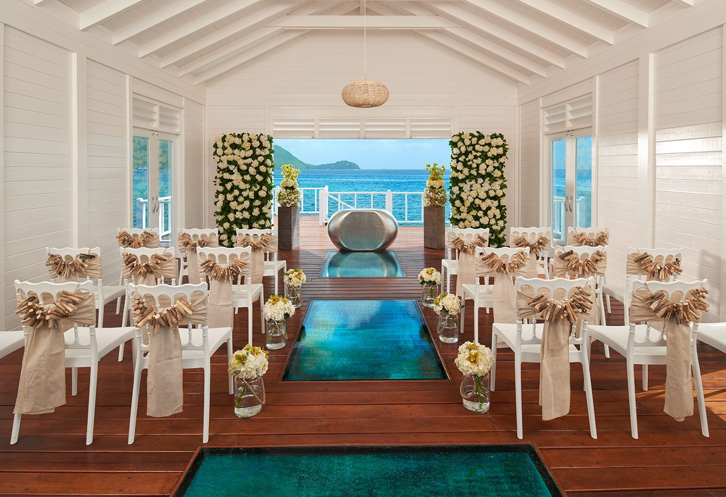 Sandals Grande Saint Lucian Over The Water Wedding Chapel