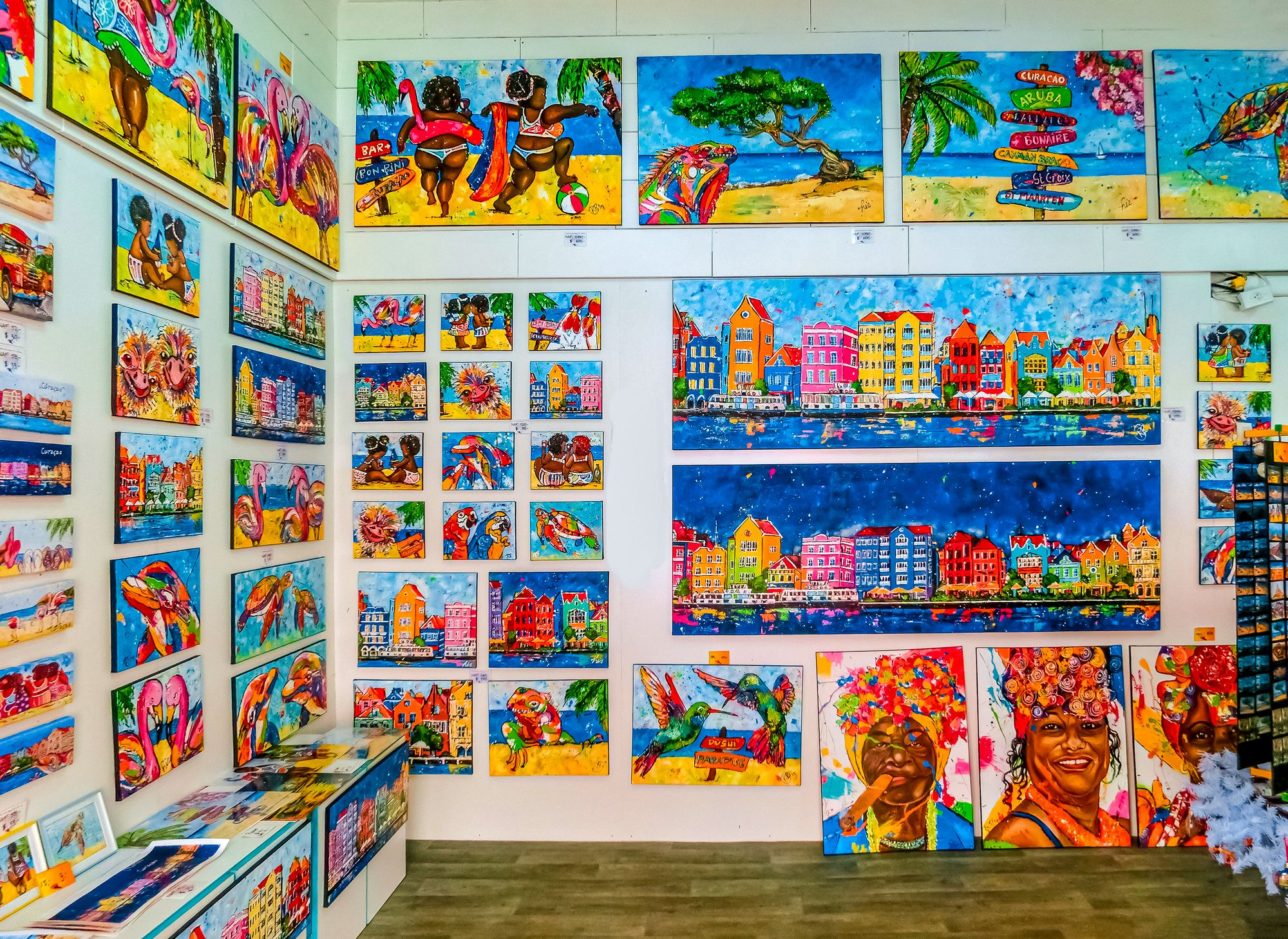 Curacao Artwork Paintings