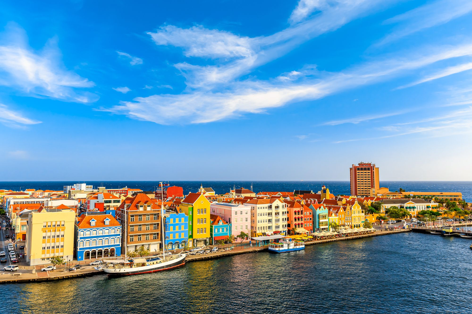 Curacao Willemstad Aerial