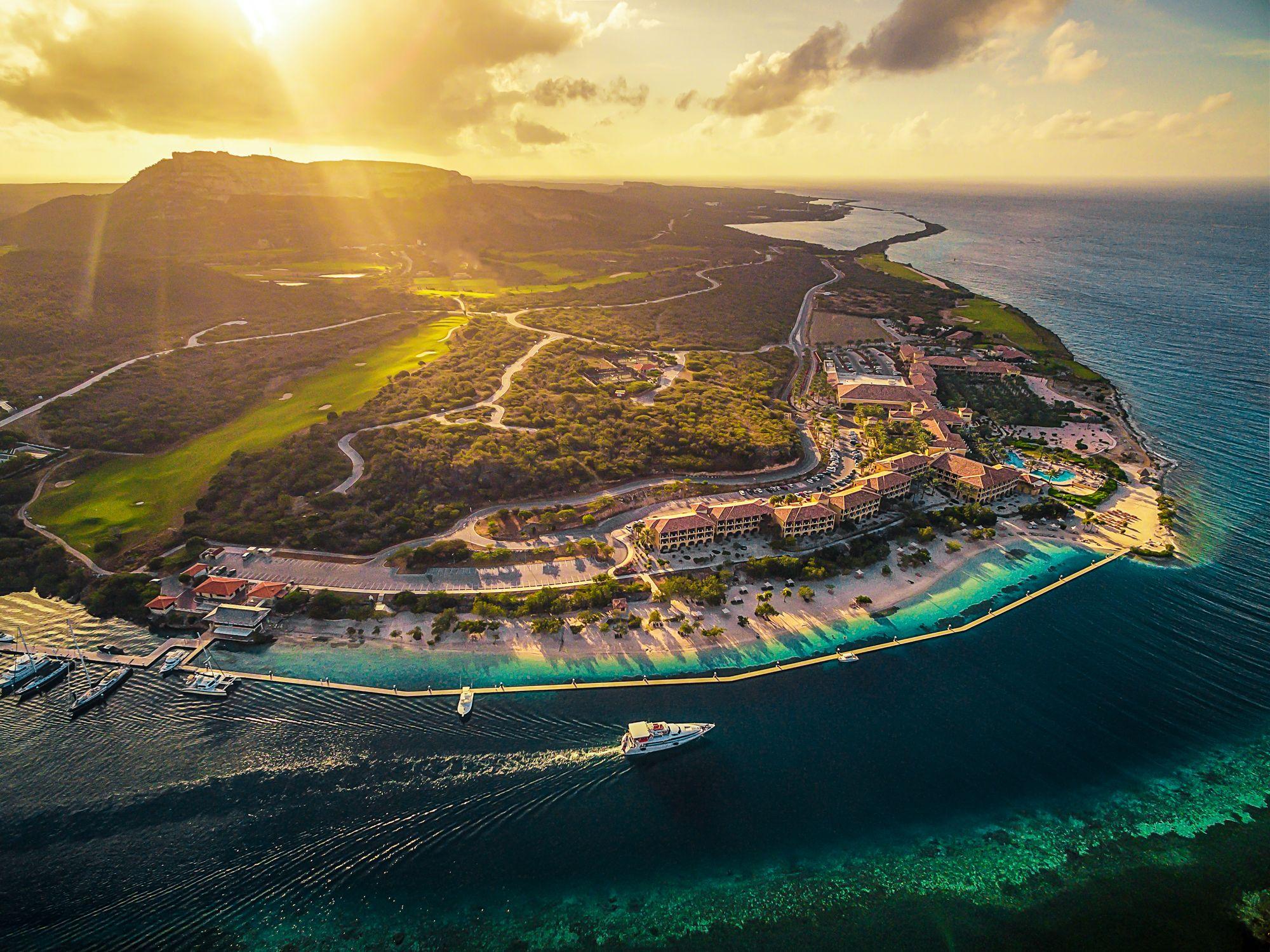 Sandals Curacao Resort Aerial