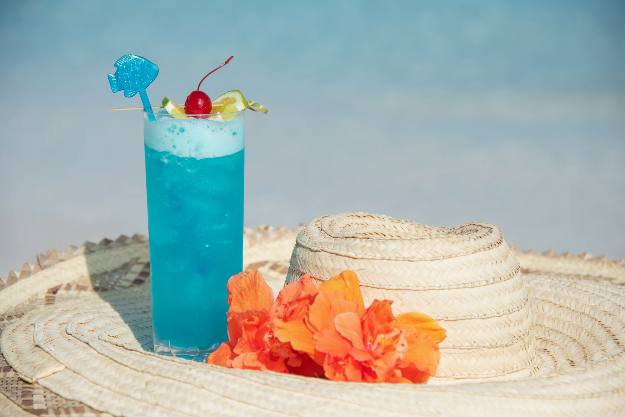 Caribbean Blue drink