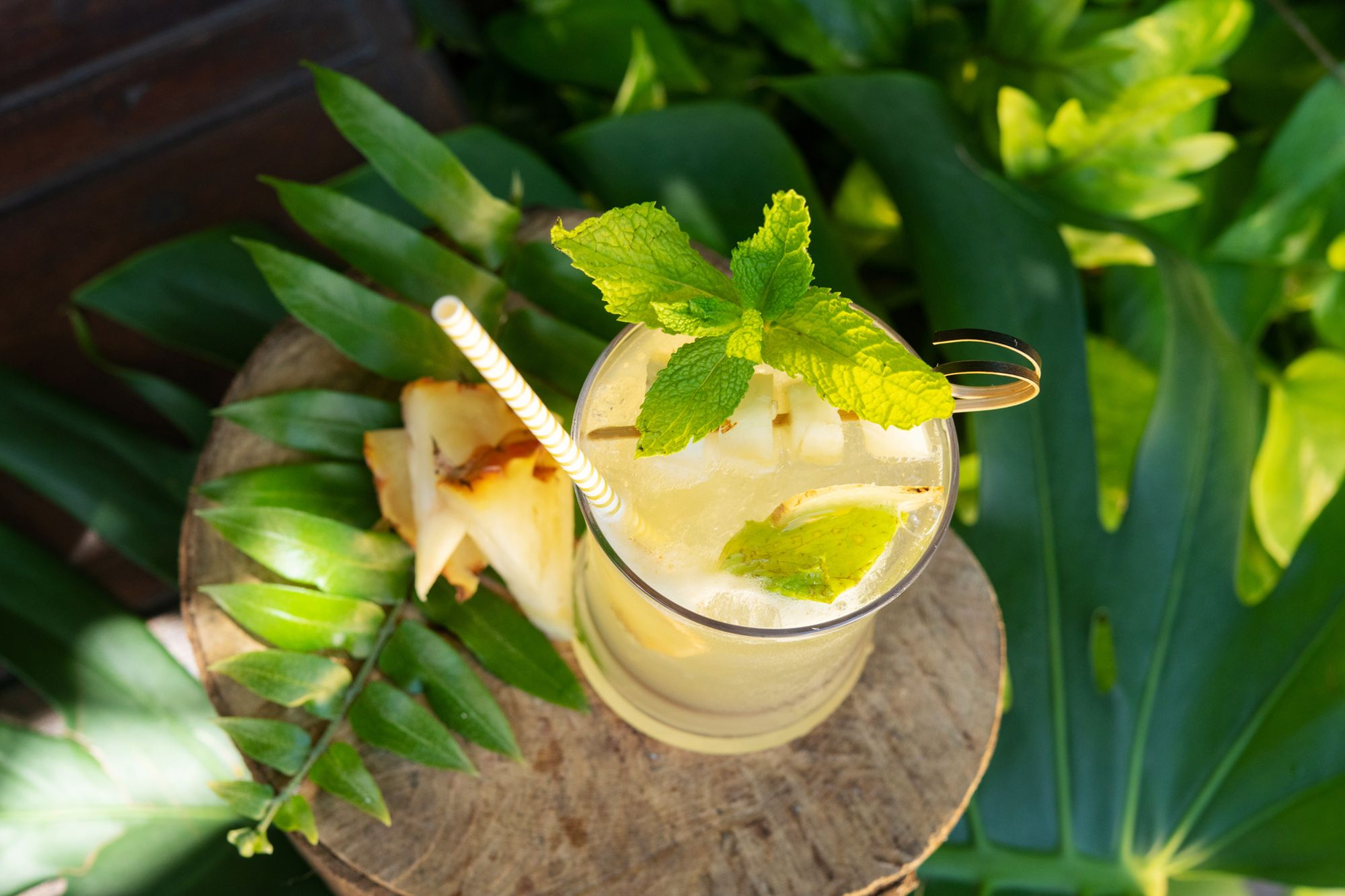 Caribbean Mule drink