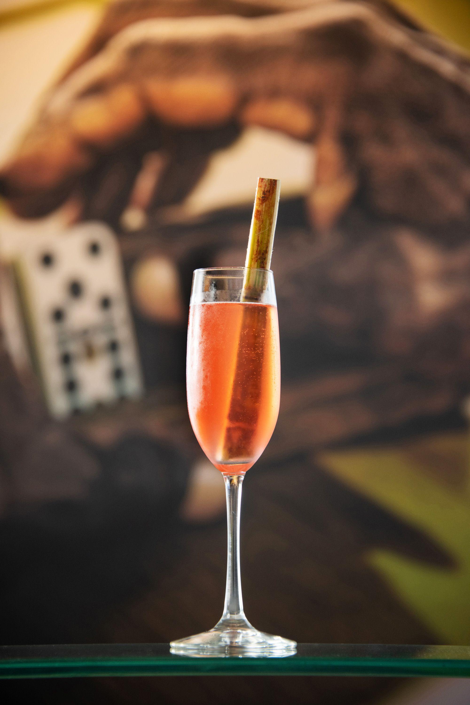 Caribbean Sparkle drink