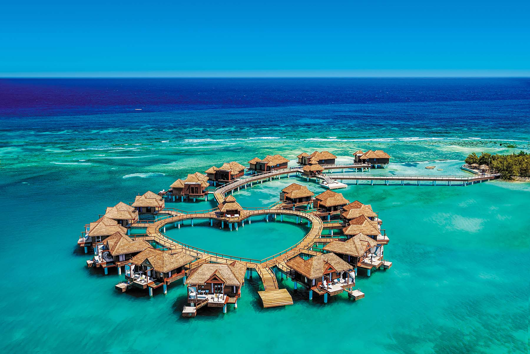 the Caribbean's first Over-the-Water suites in Jamaica