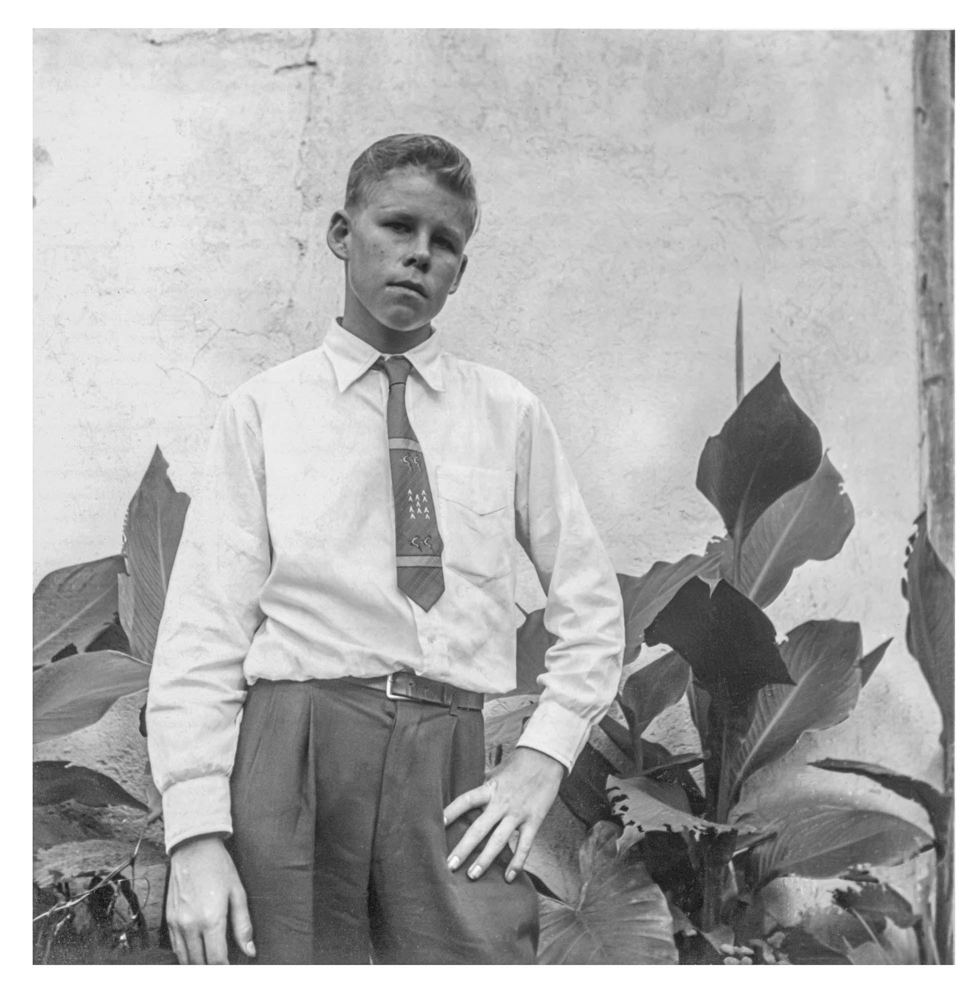 """young Gordon """"Butch"""" Stewart"""